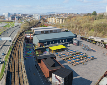 Clydeside Initiative For Arts Has Secured 1.85m In Funding To Enhance The Immediate Area Around SWG3