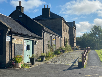 From Derelict Site to Community Hub – Lambhill Stables